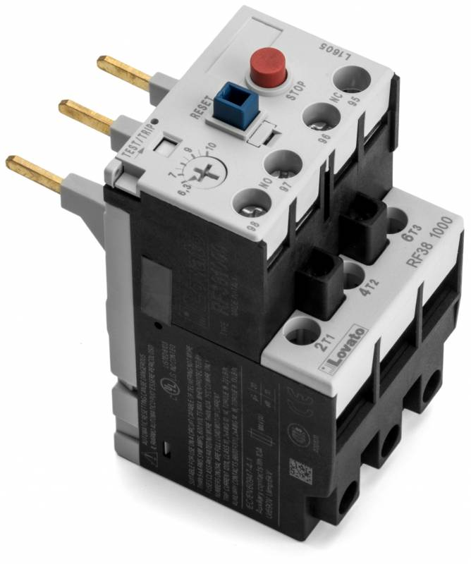 Taylor 041950 27 overload single phase replacement for 5 hp motor amps