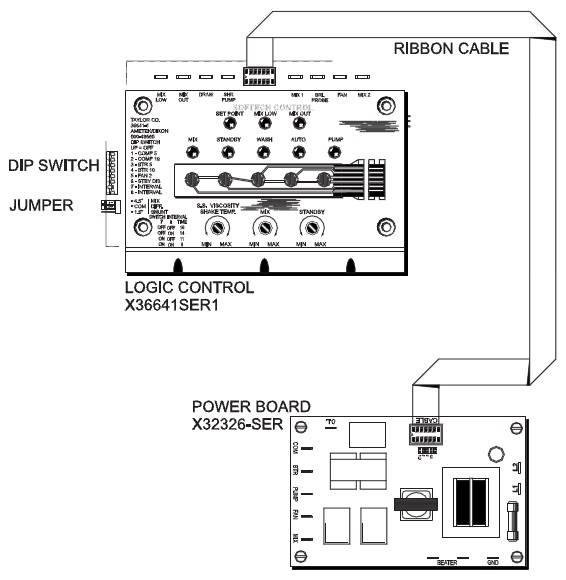 taylor x32326 circuit board