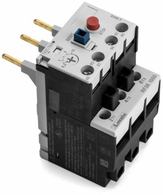 Lovato - 041950-33 - 4 to 6.5 amp Beater Overload for use with 1 hp motors 1 & 3 phase, Also 3 phase 1.5 ...