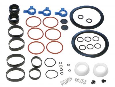 Soft Serve Parts LLC - X36567Tune up kit 8756 with Coax Pumps (Red Valve body & White piston pumps)
