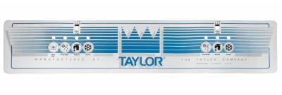Parts - Taylor | 336 - Soft Serve Parts LLC - 038337 Upper Softech Decal for Taylor model 336