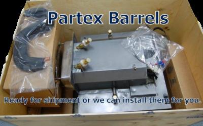 "Parts - 336 - Taylor  - Taylor Model 336 Shell Assembly, Slimline Hopper (20 1/2"") with Short Barrels"