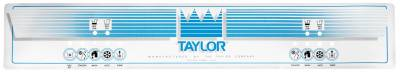 Parts - Taylor | 8756 - Taylor  - 032424 Upper Decal for Taylor model 8756