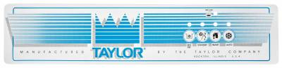 Decals - 751 - Taylor  - 033230 Decal Upper 321 & 751