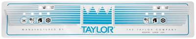 Decals - Taylor  - 069910 - Decorative Taylor 791 Upper Decal