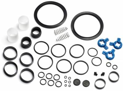 Tune-up Kits - 8756S - Soft Serve Parts LLC - X36567 Tune up kit 8756 with Coax Pumps (Red Valve body & White piston pumps)