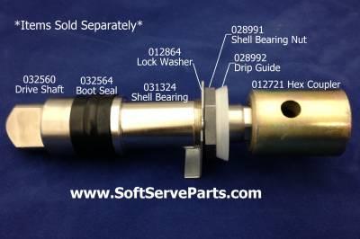 Soft Serve Parts LLC - 012721 Taylor Hex Coupler - Image 2