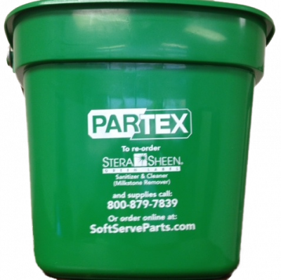 Sanitizing 2 1/2 Gallon Bucket