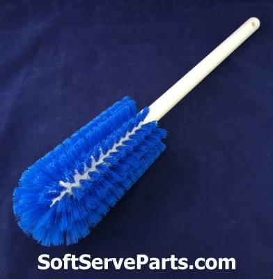 Schaefer - 066190 Brush Large Tank plastic handle blue polypropylene bristle - Image 2
