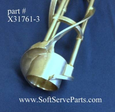 """Taylor  - X31761 Beater, original style non-reinforced, For use with 17"""" Scraper-blades - Image 3"""