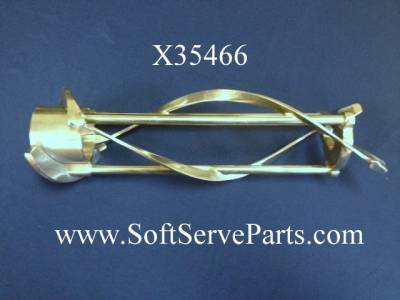 Parts - C716 - Taylor  - X31761-3 754 / 794  Beater assembly with 3 reinforcements