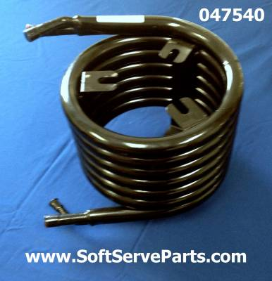 Parts - C712 - Soft Serve Parts LLC - 047540 Large water condenser for 336, 791, C713 & C712