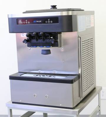 Configuration - Single Phase, Air Cooled - Taylor  - 2017 Taylor Model C161 Compact Counter Top 2 Flavor Soft Serve Machine