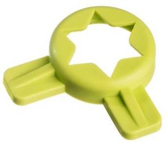 Parts - Taylor | C712 - Soft Serve Parts LLC - 014218 Green 6 pt. Star Cap