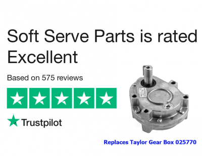 Taylor 025770 Gear Box